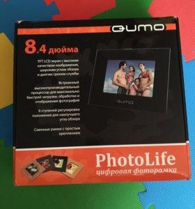Фоторамка новая Qumo QS840.01
