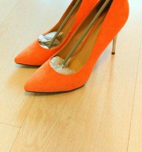 Туфли замша 38 размер