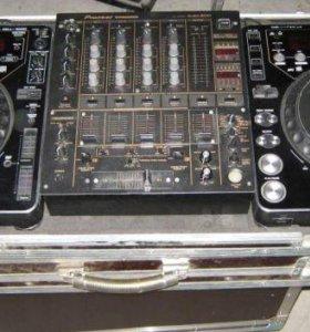Pioneer CDJ-1000 + DJM-600