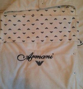 Продам дизайнерский конверт и пледик от Armani