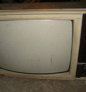 Телевизор цветной. горизонт.СССР