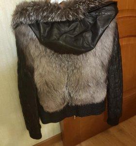 Жилетка куртка меховая