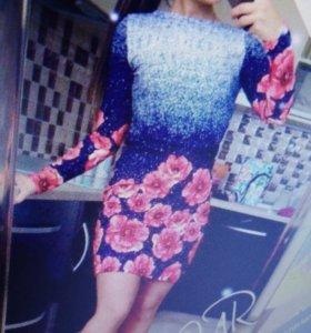 Новое легкое платье