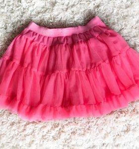 Пышная юбка для девочки на рост 116-122