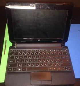 Ноутбук HP mini на запчасти.