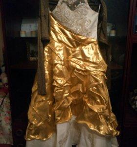 Пышное платье