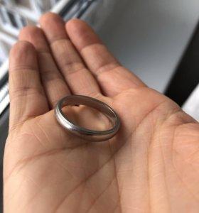 Кольцо мужское обручальное TIFFANY&co