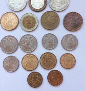 Монеты СССР-РФ (период 1991-1993)