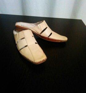 Открытые туфли (мокасины)
