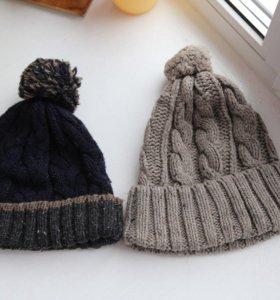 новые шапки мужские англ. фирм George и Matalan