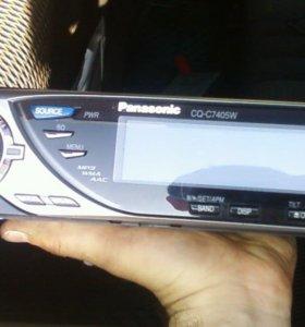 Процессорная магнитола Panasonic cq-c7405w