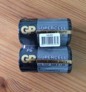 Батарейки новые