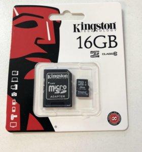 Micro SD Kingston 16gb