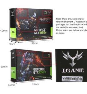 Видеокарта NVIDIA GeForse GTX iGame 1050TI 4 ГБ