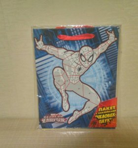 Пакет с наклейками Человек-паук