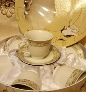 Сервис чайный фарфор