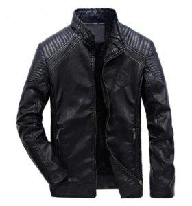 Байкерская курточка на весну 50-52