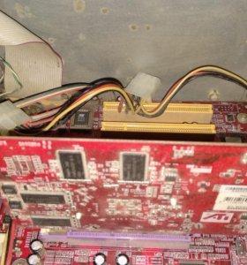 Видеокарта PowerColor R92-NC2 Radeon 9200 128мб