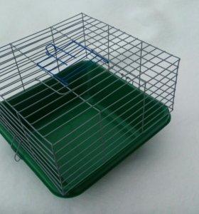 Клетка для морской свинки квадратная