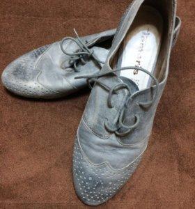 Новые Ботинки TAMARIS , кожа, 39