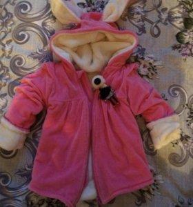 Куртка на девочку принцессу