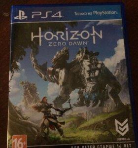 Игра диск Horizon zero dawn