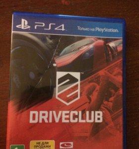 Игра диск Driveclub на ps4