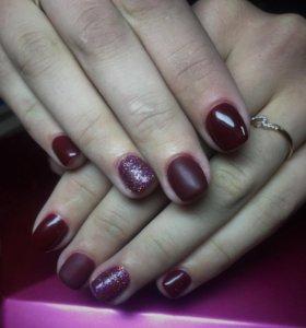 Покрытие ногтей шеллаком
