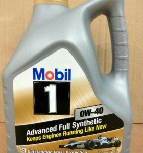 Моторное масло Mobil FS 0W-40, 4л