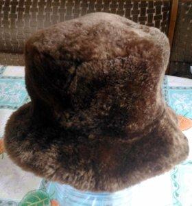Шляпа женская из мутона
