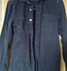 Рубашка мужская джинсовая, TopMan