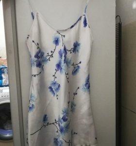 Постельное платье
