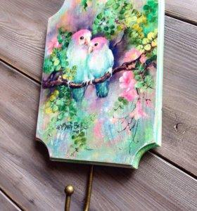 Ключница  Птички