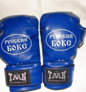 Боксёрские перчатки детские 6 Оz