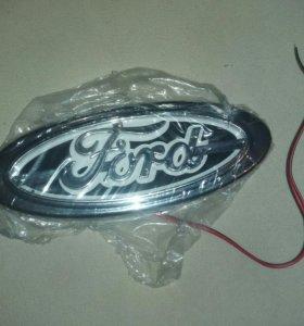"Эмблблема ""Ford"" с подсветкой(белая)"
