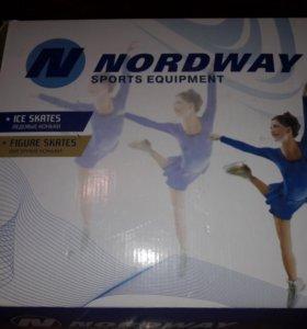 Коньки фигурные женские Nordway Emily