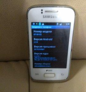 Смартфон Samsung Galaxy Y Duos GT-S6102