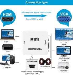 Конвертеры HDMI в VGA (HDMI2VGA)
