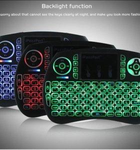 Беспроводная мини-клавиатура для тв с подсветкой