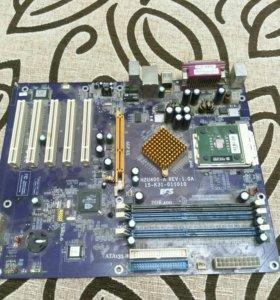 Мать N2U400-A и проц AMD SEMPRON