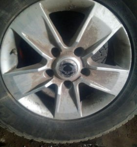 Комплект зимних колёс на санг енг кайрон