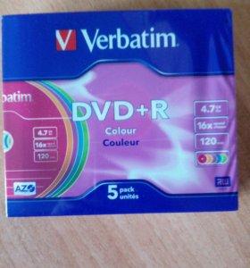 Диски DVD+ R
