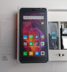 Новый Xiaomi Redmi Note 4 Global Version 3/32GB