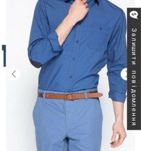 Новая мужская рубашка размер s