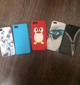 Чехлы (iphone5s)