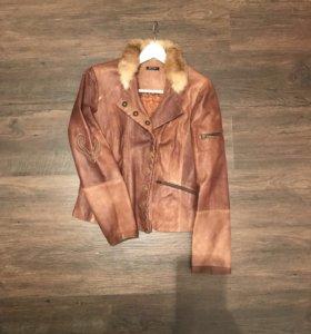 Куртка кожаная Extyn