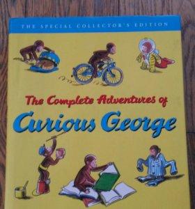 Curious George книга на английском