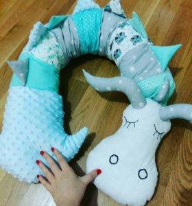 Подушка игрушка Дракоша