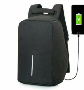 Новый рюкзак антивор с Usb