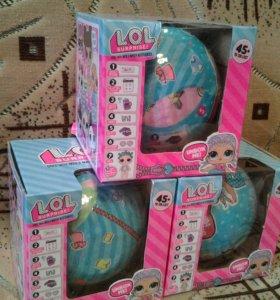 """Куклы """"L.O.L."""" в шаре"""